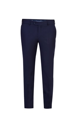 Slim Fit Düz Klasik Pantolon