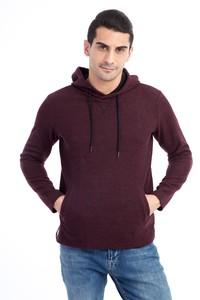 Kapüşonlu Tasarım Slim Fit Sweatshirt
