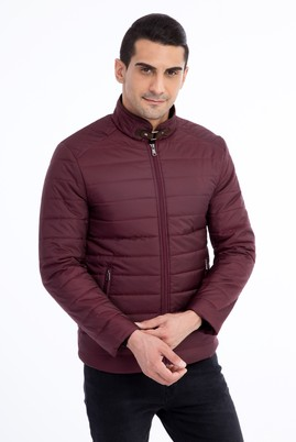 Slim Fit Kapitone Mont