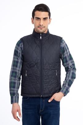 Erkek Giyim - Kapitone Bonded Yelek