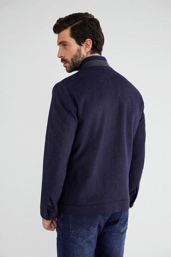 Erkek Giyim - Kaşe Yün Mont
