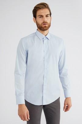 Uzun Kol Düz Slim Fit Gömlek