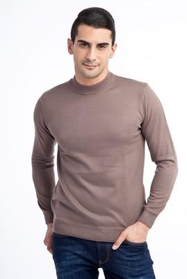 Erkek Giyim - Bato Yaka Triko Kazak