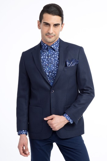Erkek Giyim - Kuşgözü Ceket