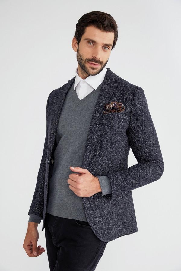 Desenli Ceket