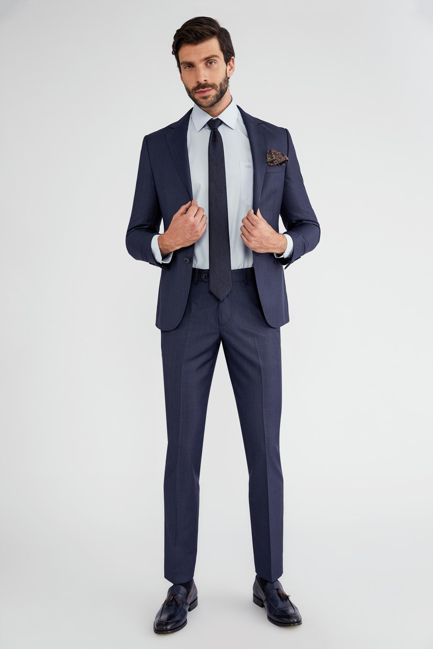 8631ffbcd15eb Slim Fit Takım Elbise - Takım Elbise Modelleri - Spor Takım Elbise