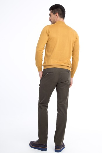 Slim Fit Düz Spor Pantolon