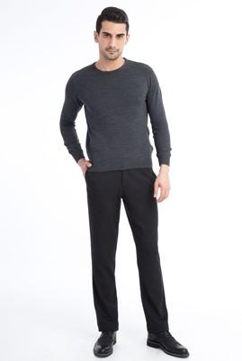 Erkek Giyim - Kuşgözü Flanel Pantolon
