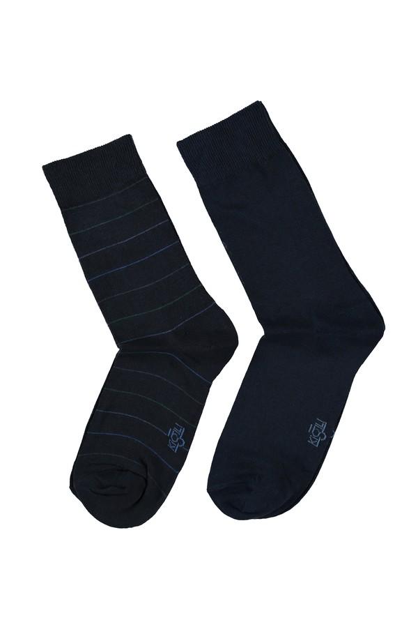 2'li Çizgili Çorap