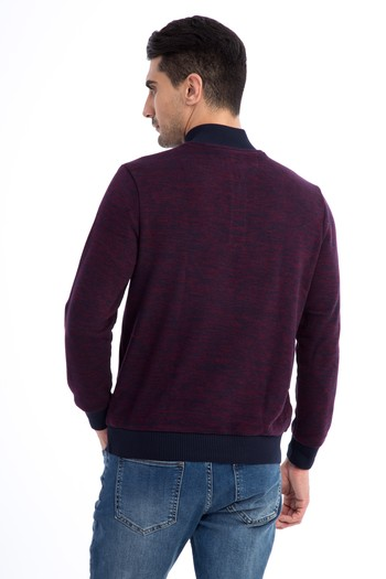 Bato Yaka Fermuarlı Sweatshirt