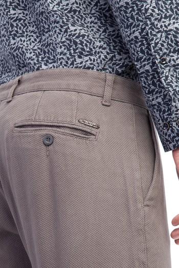 Slim Fit Desenli Spor Pantolon