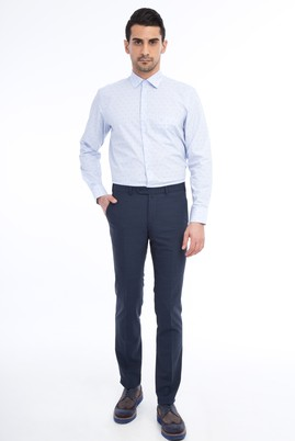 Slim Fit Kuşgözü Pantolon
