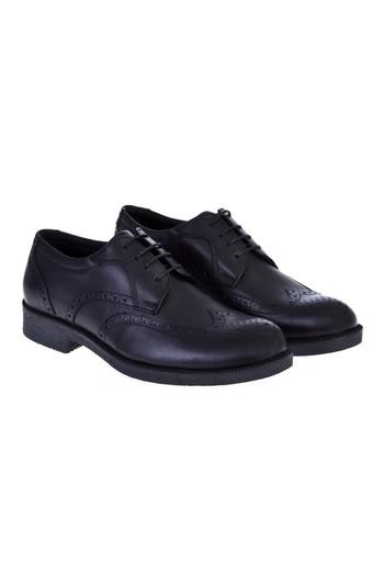 Erkek Giyim - Bağcıklı Deri Ayakkabı