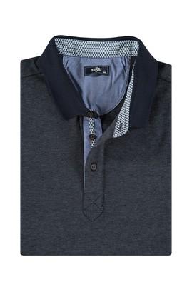 King Size Polo Yaka Sweatshirt