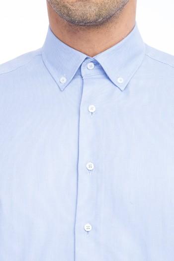 Uzun Kol Spor Oxford Gömlek