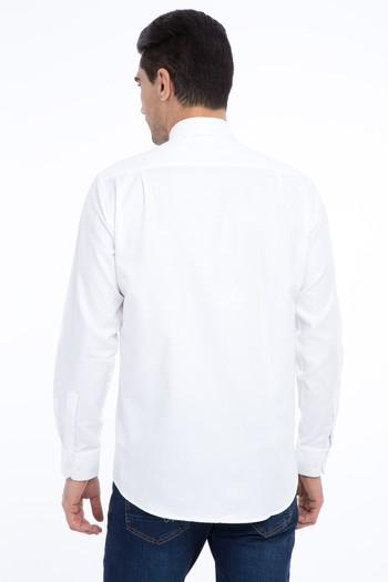 Erkek Giyim - Uzun Kol Spor Oxford Gömlek