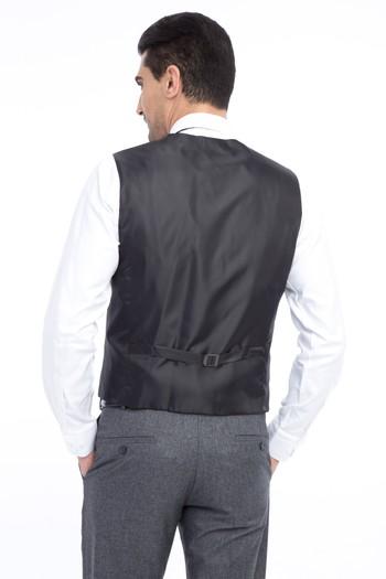 Yelekli Slim Fit Takım Elbise