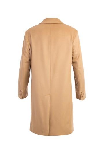 Düz Kaşe Yün Palto
