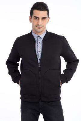 Fermuarlı Scuba Sweatshirt