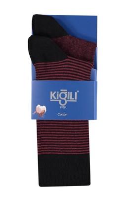 Erkek Giyim - 2'li Çizgili Çorap