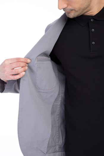Erkek Giyim - Yıkamalı Spor Ceket