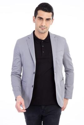 Düz Spor Yıkamalı Ceket