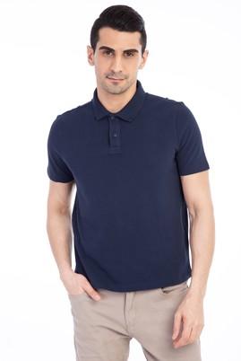 Erkek Giyim - Lacivert M M Regular Fit Polo Yaka Tişört