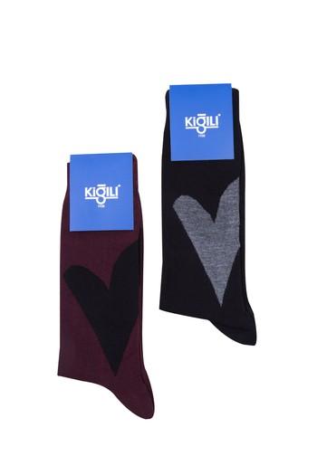 2'li Sevgililer Günü Çorabı