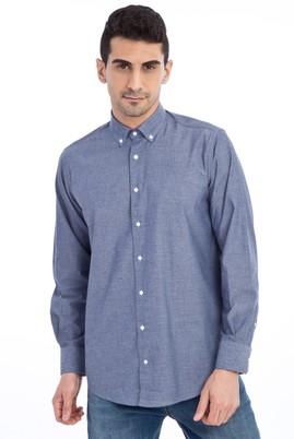 Uzun Kol Tasarım Düz Gömlek
