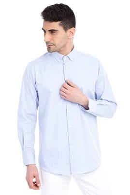 Erkek Giyim - Uzun Kol Düz Gömlek