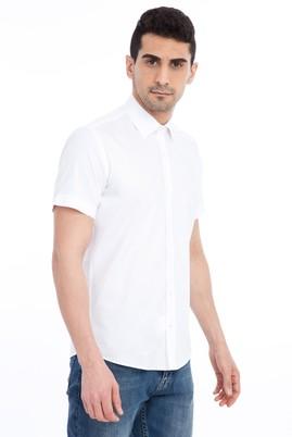 Erkek Giyim - Kısa Kol Slim Fit Gömlek
