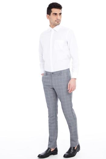 Erkek Giyim - Spor Kareli Pantolon