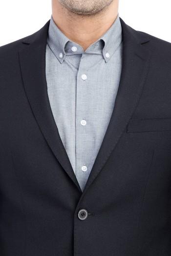 Düz Klasik Blazer Ceket