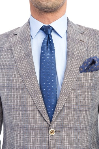 Erkek Giyim - Klasik Ekose Ceket