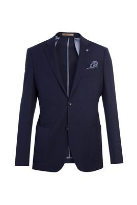 Slim Fit İtalyan Desenli Ceket