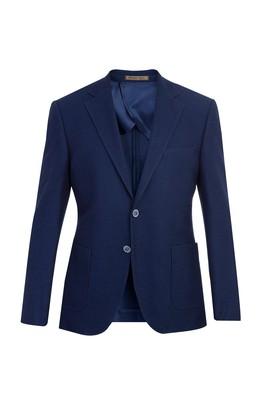 Erkek Giyim - Slim Fit İtalyan Kuşgözü Ceket