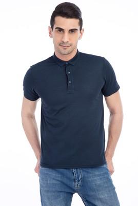 İtalyan Yaka Tasarım Slim Fit Tişört