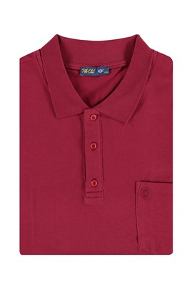 King Size Polo Yaka Düz Regular Fit Tişört