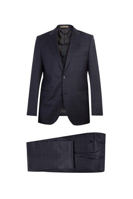 Erkek Giyim - İtalyan Kareli Takım Elbise