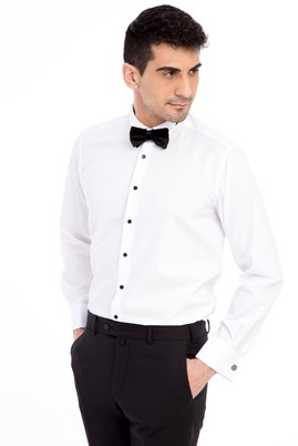 Erkek Giyim - Ata Yaka Kolay Ütülenir Gömlek