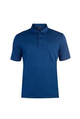 Erkek Giyim - Yarım İtalyan Yaka Regular Fit Tişört
