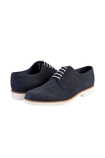 136f834fc70e6 Erkek Lacivert Bağcıklı Nubuk Casual Ayakkabı | 6YOAJE6955041 - Kiğılı