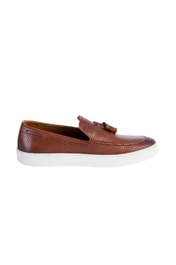 Erkek Giyim - Püsküllü Slip On Ayakkabı