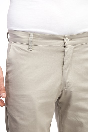 Erkek Giyim - Slim Fit Spor Bermuda Şort
