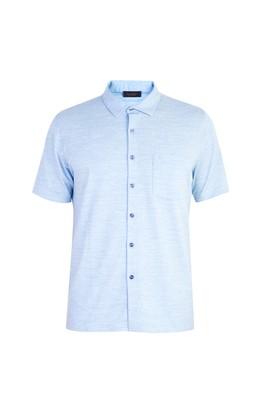 Erkek Giyim - Regular Fit Desenli Süprem Polo Yaka Tişört