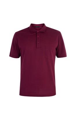 Erkek Giyim - Yarım İtalyan Yaka Süprem Regular Fit Tişört