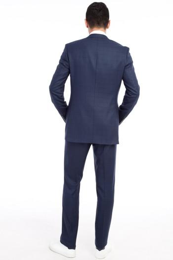 Erkek Giyim - Kareli Takım Elbise