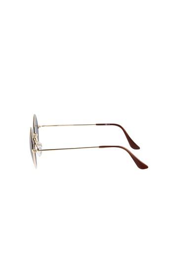 Erkek Giyim - Metal Çerçeveli Güneş Gözlüğü