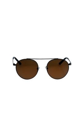 Erkek Giyim - Sarı STD 00 Metal Çerçeveli Güneş Gözlüğü