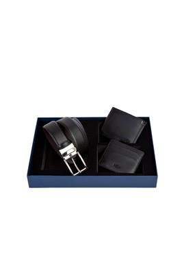 Erkek Giyim - 3'lü Kemer & Cüzdan & Kartlık Set